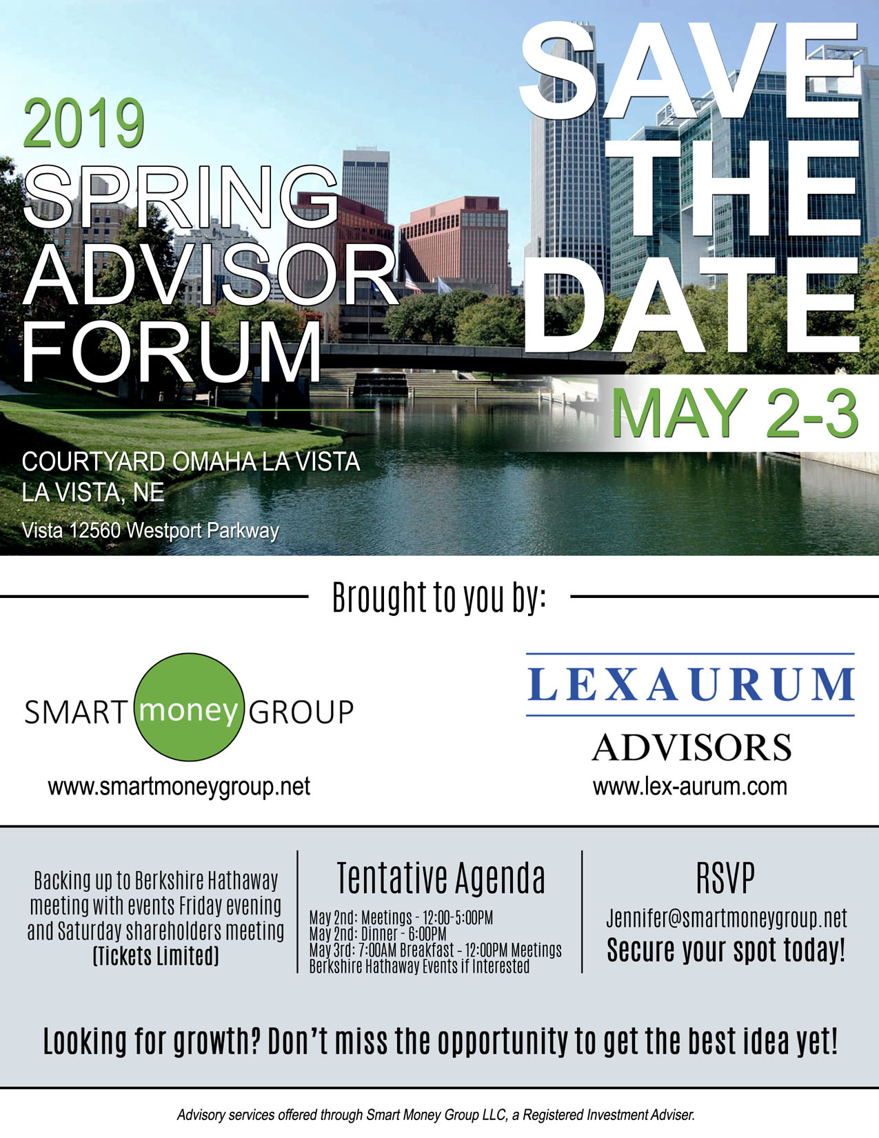 SMG Forum Save the Date